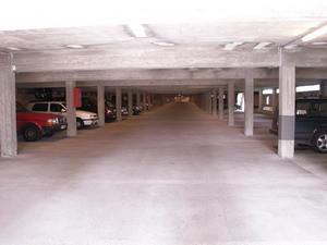 Her er garasjen
