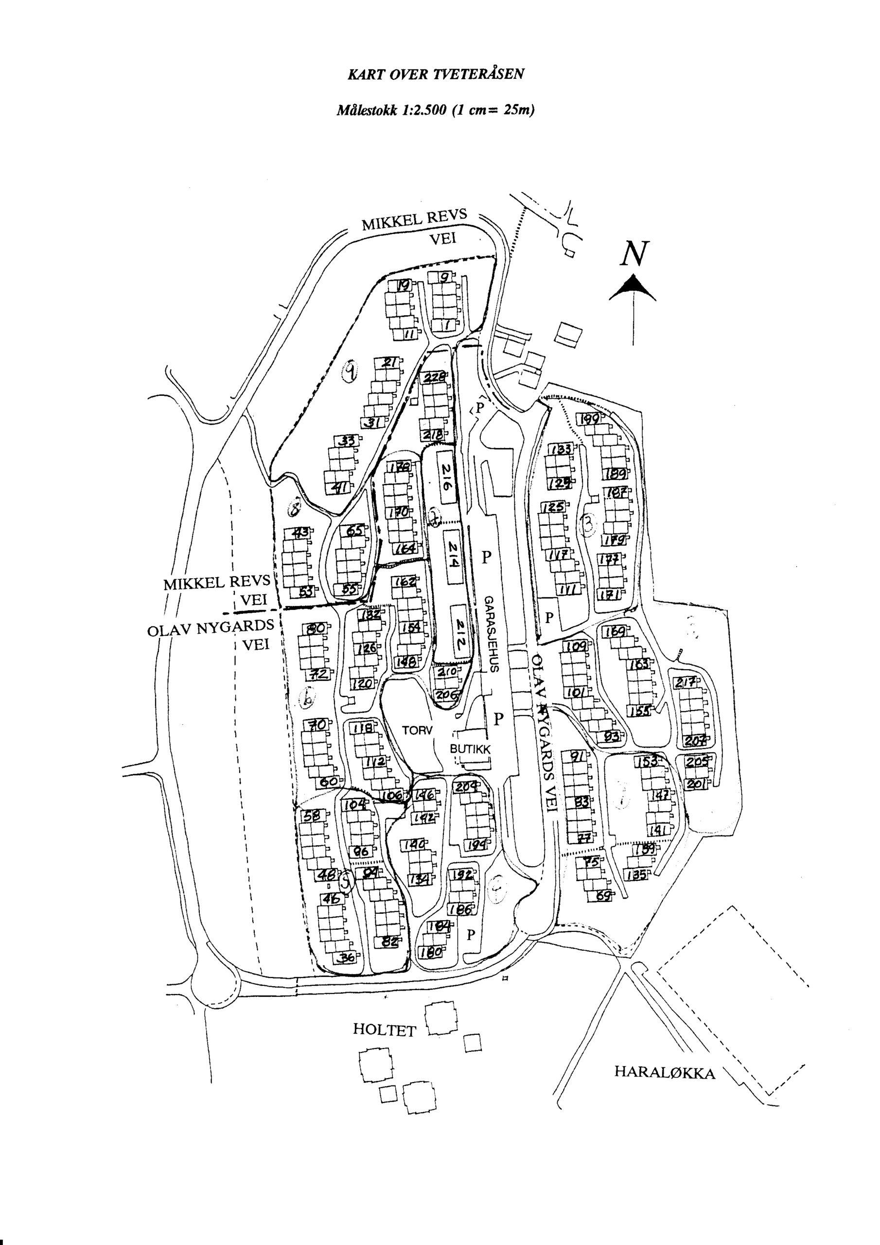 Kart Tveteråsen